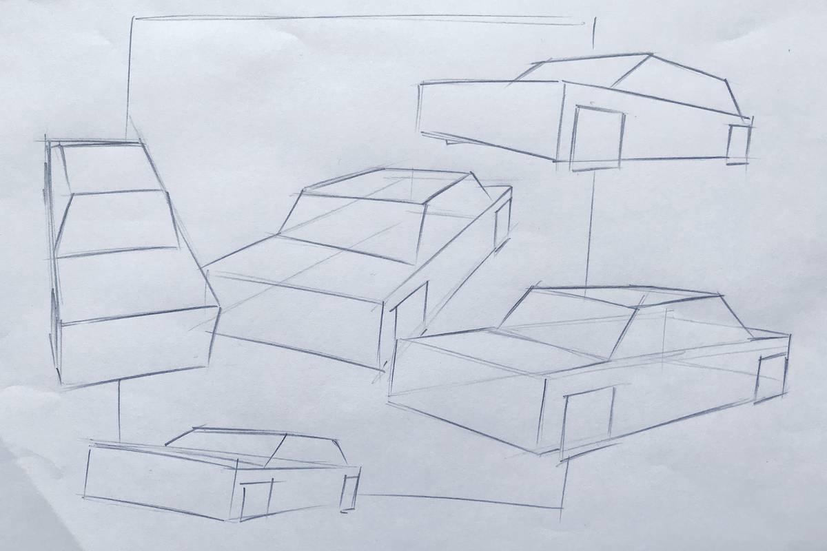 Autos Perspektivisch Richtig Zeichnen Akademie Ruhr