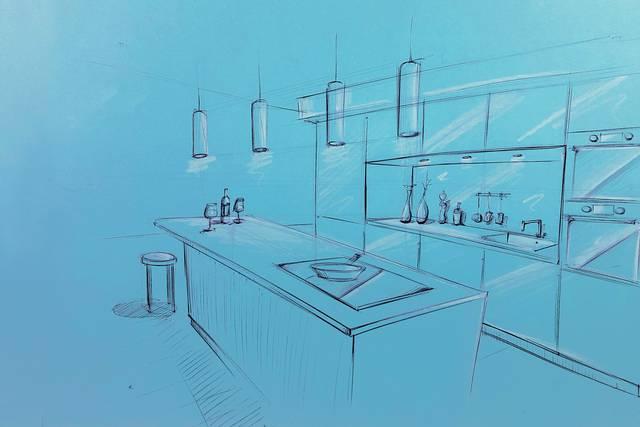 Küchenplanung einfach gemacht. Küchen-Zeichnungen die verkaufen ...